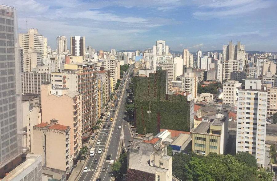 باغ هاي عمودي در شهر سائوپائولو