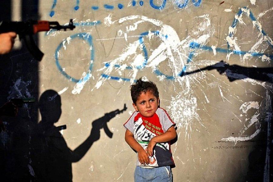 كودك فلسطيني