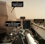 اینسایت در مریخ زلزلهسنج نصب کرد
