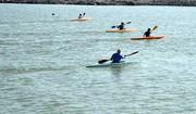 گیلان قهرمان مسابقات قایقرانی آبهای آرام کشور شد