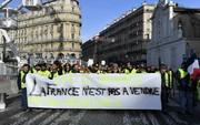 تظاهرات جلیقه زردهای فرانسه برای ششمین هفته متوالی