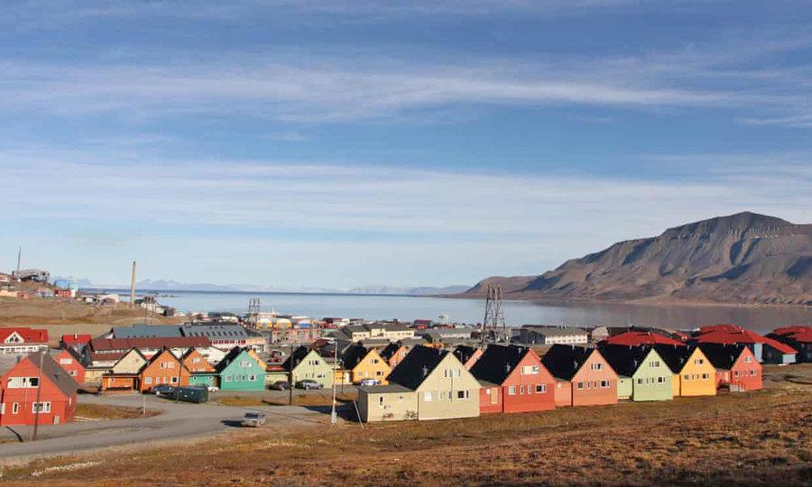 مجمع الجزاير سوالبارد در قطب شمال