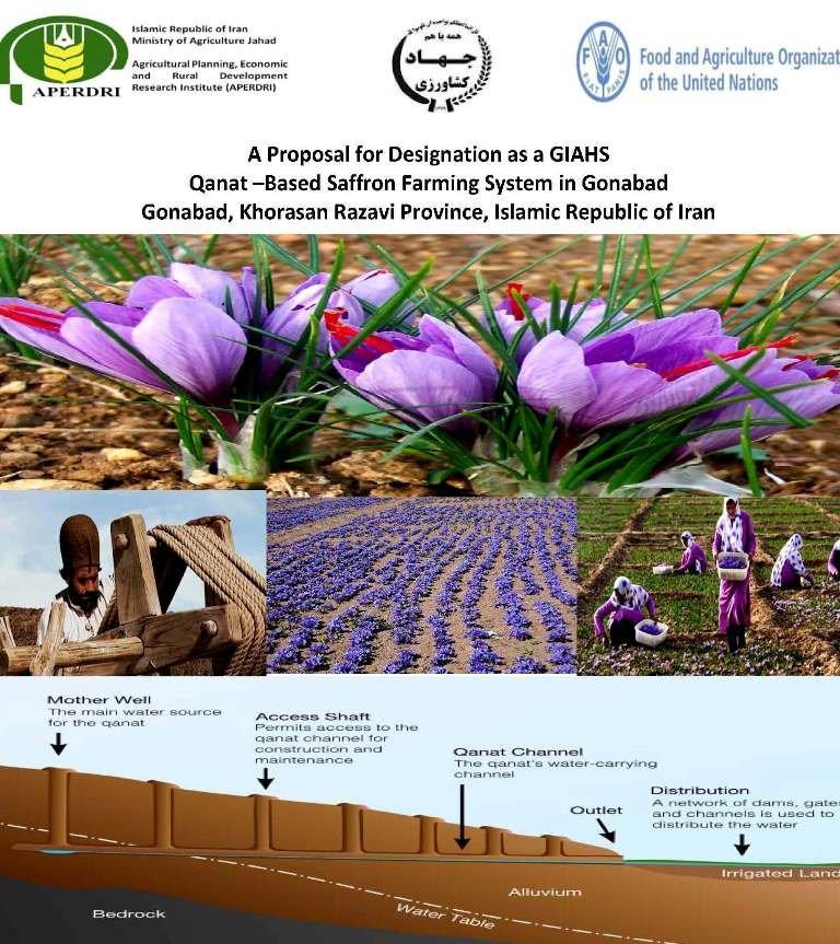 ثبت جهاني نظام زراعت زعفران مبتنی بر قنات