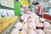 کاهش ۱۰۰ تومانی قیمت مرغ در بازار
