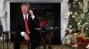 ترامپ در شب کریسمس: طفلک من که در کاخ سفید تنها ماندهام