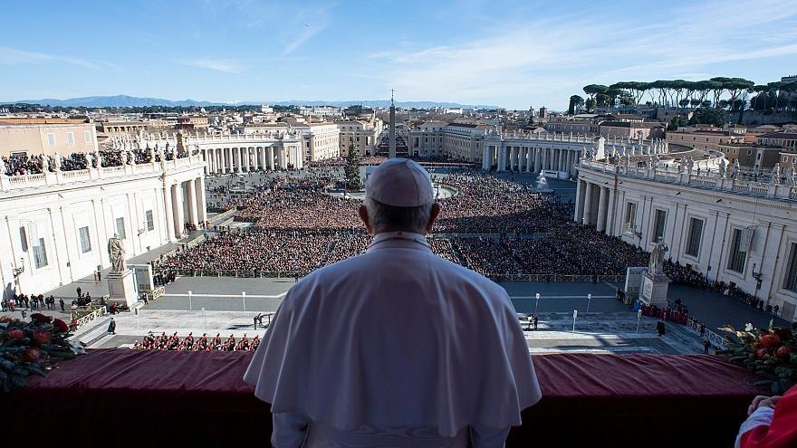 پيام پاپ به مناسبت كريسمس