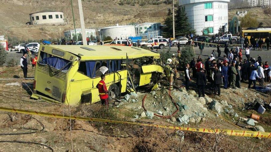 آخرین اسامی مصدومان و جانباختگان حادثه واژگونی اتوبوس دانشگاه علوم و تحقیقات