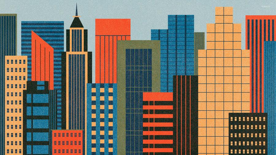 شهر ، ساختمان