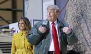 ترامپ در سفری سرزده وارد عراق شد