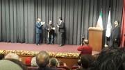 اهدای نشان ویژه تئاتری به اصغر فرهادی