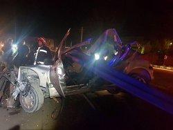 تصادف مرگبار روی پل کابلی تبریز