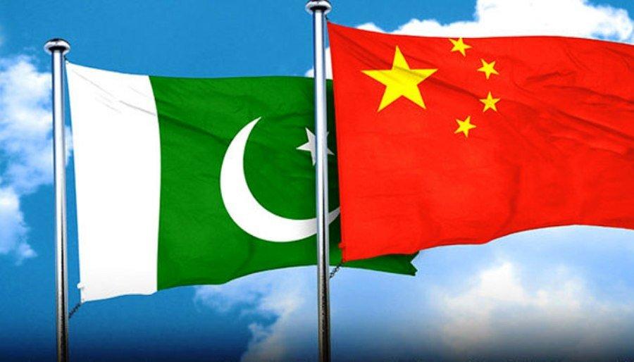 پرچم هاي چين و پاكستان