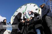 تصاویر تجمع اعتراضی دانشجویان دانشگاه آزاد واحد علوم و تحقیقات