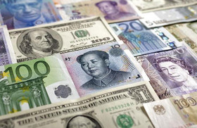 شنبه ۳۱ فروردین | نرخ رسمی ۲۵ ارز کاهش یافت؛ قیمت یورو و پوند نزولی شد