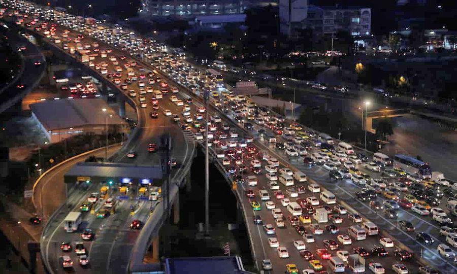 حوادث جاده اي در تايلند