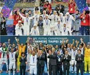 تیمهای ملی فوتسال مردان و زنان ایران رتبه چهارم و ششم جهان را به خود اختصاص دادند