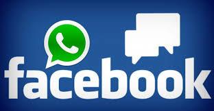 فيسبوك و اتس اپ