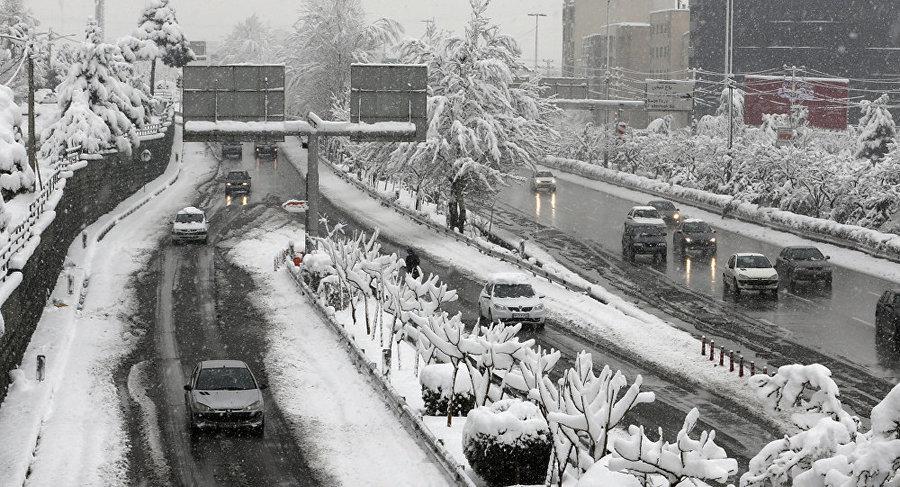 برف تهران