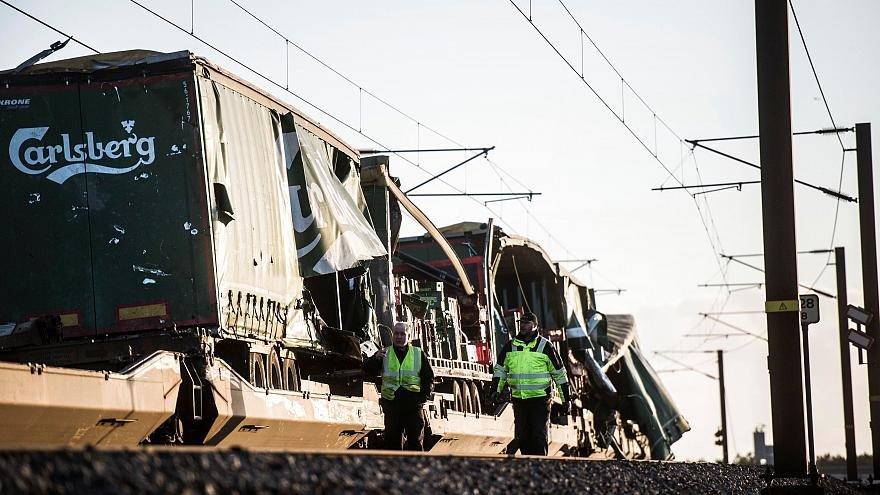 تصادف قطار در دانمارك