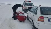 برف و کولاک در ۸ استان ایران