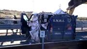 سارقان مسلح با بیل مکانیکی از خودرو حمل پول ۲ میلیون یورو دزدیدند