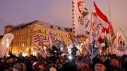 مجارستانی ها در اعتراض به قانون بردهداری به خیابان آمدند