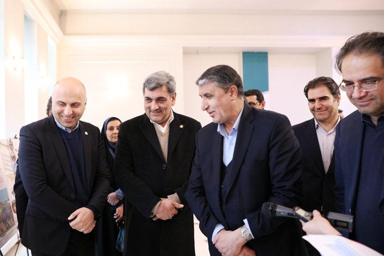 حناچي، نمايشگاه بازآفريني محور شهري راهآهن تهران-تبريز