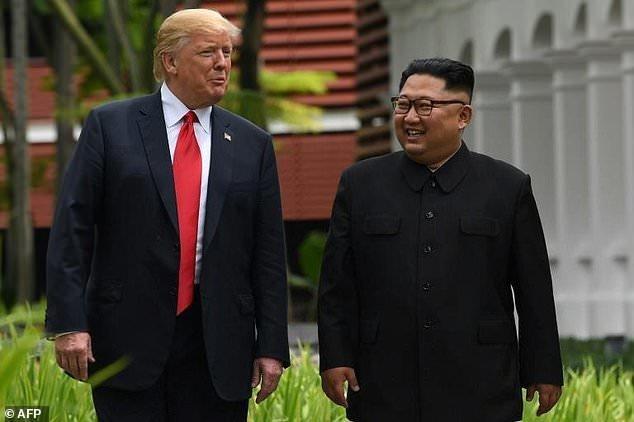 ترامپ و كيم جونگ اون