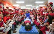 عکس روز | آموزش پزشکی سنتی