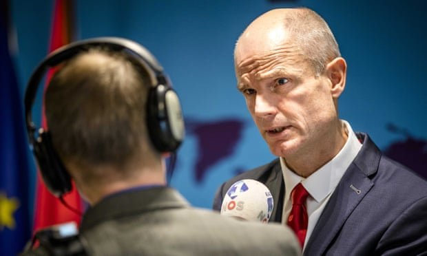 استف بلاک وزیر امور خارجه هلند