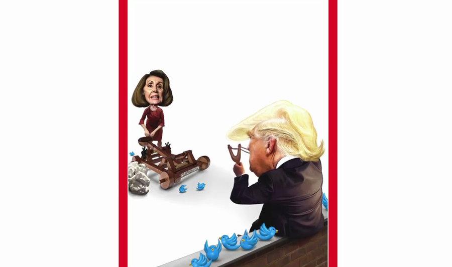 ترامپ پلوسی