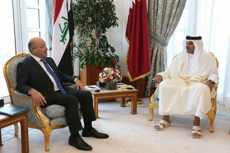 صالح: قطر به برپایی ساختار جدید روابط منطقه ای کمک کند