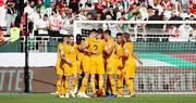 جام ملتها؛ پیروزی استرالیا مقابل فلسطین