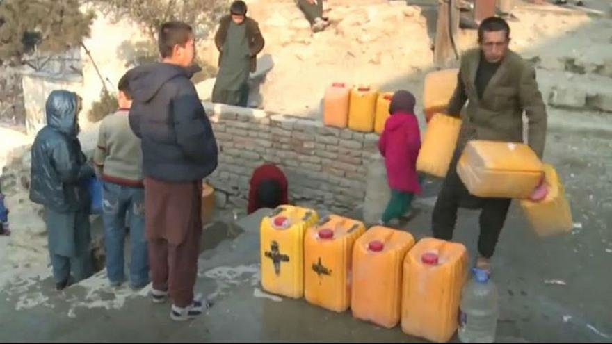 بحران آب در كابل