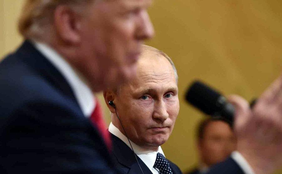 ترامپ پوتین