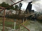 سقوط هواپیمای باری با ۱۰ سرنشین در کرج