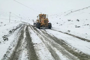 برف و کولاک در هراز و فیروزکوه