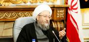 آملی لاریجانی: تخریب نهادهای نظام تخریب اصل نظام است