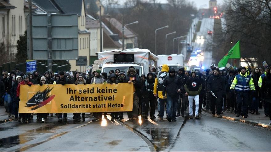 تظاهرات راست افراطي آلمان