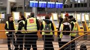 اعتصاب در فرودگاههای بزرگ آلمان ده هزار مسافر را سردرگم کرده است