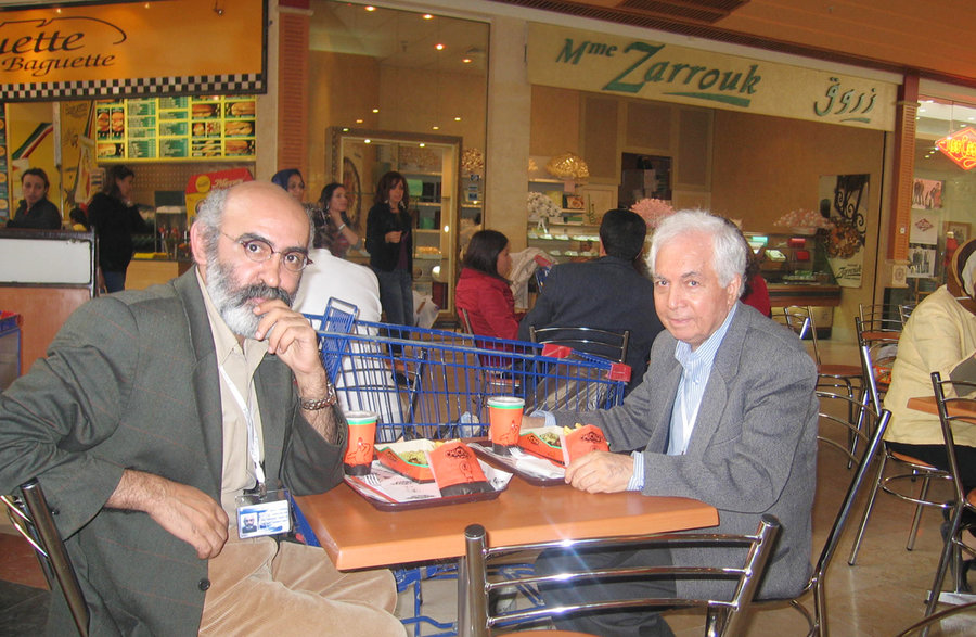 معتمئنژاد - شکرخواه | تونس سال 2005