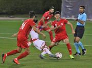 شکست تیم فوتبال امید مقابل تاجیکستان