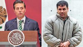 رشوه ۱۰۰ میلیون دلاری قاچاقچی بزرگ به رئیسجمهوری پیشین مکزیک