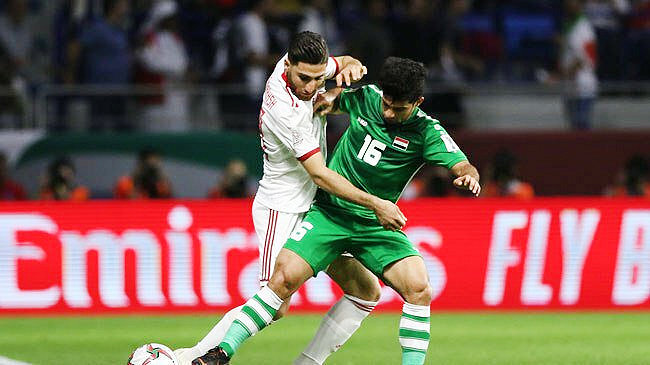 ايران و عراق فوتبال