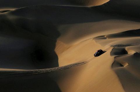 جدالهای ماسهای | زیبا از رالی داکار