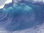 موجهای ۳.۵ متری در دریای خزر و خلیج فارس