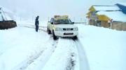 ارتفاع برف در گلستان به بیش از ۵۰ سانتی متر رسید