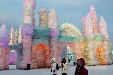 فستیوال مجسمههای یخی - چین