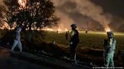 دهها کشته و زخمی در پی انفجار یک خط لوله نفت در مکزیک