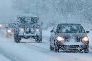 بارش برف و کاهش دید در جادههای کشور